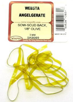 Wapsi SOW- SCUD BACK 3mm Olive SK8089