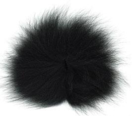 Orkla Fur & Feather ARCTIC FOX TAIL Black