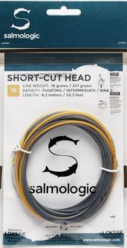 Salmologic SHORT CUT HEAD 16g./ 247grains FLOATING/ INTERMEDIATE/ SINK2