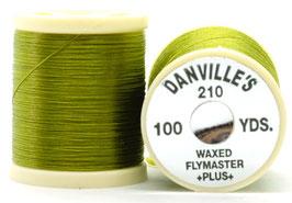 Danville's FLYMASTER PLUS 210 Denier Waxed Olive