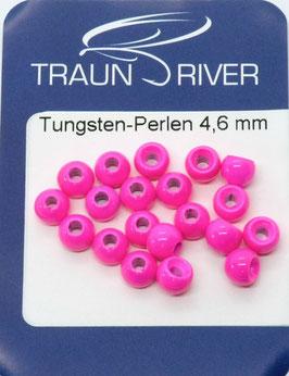 Traun River TUNGSTENKUGELN 4,6mm Fluo Rot