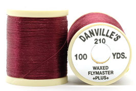 Danville's FLYMASTER PLUS 210 Denier Waxed Wine TPS052