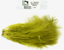 Hareline X- SELECT MARABOU Hot Olive XS263