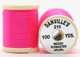 Danville's FLYMASTER PLUS 210 Denier Waxed Hot Pink TPS501