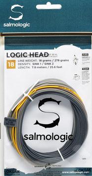 Salmologic LOGIG HEAD 18g./ 278grains SINK1/ SINK2