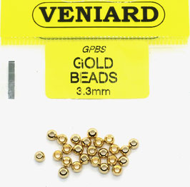 Veniard GOLD BEADS 3,3mm