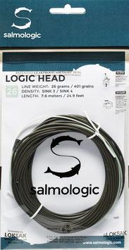 Salmologic LOGIC HEAD 26g./ 401grains SINK3 / SINK4