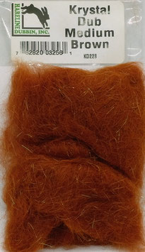 Hareline KRYSTAL DUB Medium Brown KD228