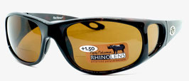 Flying Fisherman NASSAU READERS +1.50 Black Amber