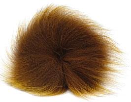 Orkla Fur & Feather ARCTIC FOX TAIL Dark Brown
