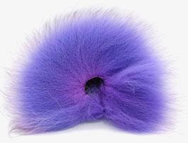 Orkla Fur & Feather ARCTIC FOX TAIL Purple