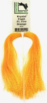 Hareline KRYSTAL FLASH Fl. Fire Orange KF03