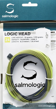 Salmologic LOGIC HEAD 24g./ 370grains FLOATING/ SINK3