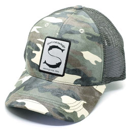 Salmologic CAMO TRUCKER HAT