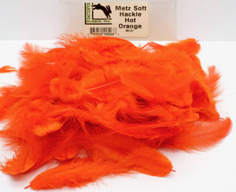Hareline METZ SOFT HACKLE Hot Orange MH187