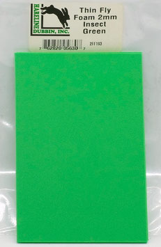 Hareline THIN FLY FOAM Insect Green 2FF193