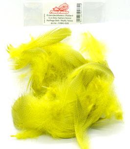 Flies & More MALLARD BODY FEATHERS Mayfly Yellow