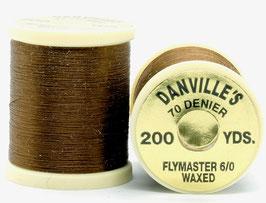 Danville's FLYMASTER 70 Denier Waxed Dark Brown TFS073