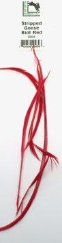 Hareline GOOSE BIOTS Red SGB310