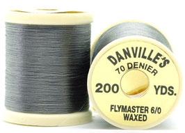 Danville's FLYMASTER 70 Denier Waxed Gray TFS135