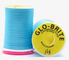 GLO BRITE FLOSS 14 Fl. Blue