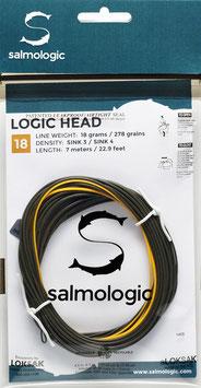 Salmologic LOGIG HEAD 18g./ 278grains SINK3/ SINK4