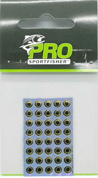 Pro Sportfisher COOL EYES Golden 4mm
