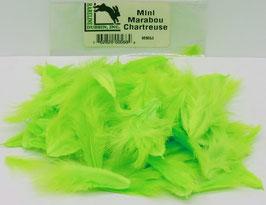 Hareline MINI MARABOU Chartreuse MM54
