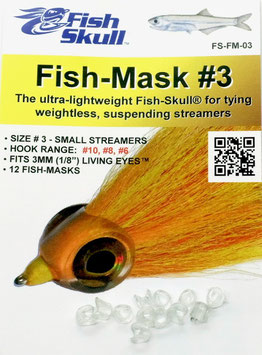 Fish Skull FISH MASK #3 FS-FM-03