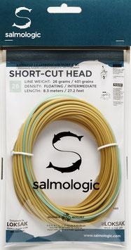 Salmologic SHORT CUT HEAD 26g./ 401grains FLOATING/ INTERMEDIATE
