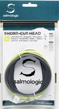 Salmologic SHORT CUT HEAD 24g./ 370grains FLOATING/ SINK1/ SINK2