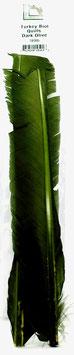Hareline TURKEY BIOT QUILL Dark Olive TBQ95