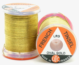UTC FRENCH TINSEL OVAL Gold Large