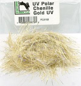 Hareline UV POLAR CHENILLE Gold PCUV153