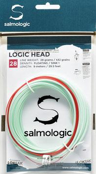 Salmologic LOGIC HEAD 28g./ 432grains FLOATING/ SINK1