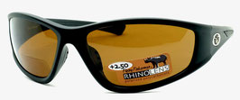 Flying Fisherman FALCON READERS +2.50 Black Amber