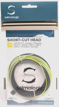 Salmologic SHORT CUT HEAD 24g./ 370grains HOVER/ SINK2/ SINK6