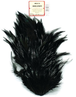 Wapsi INDIAN ROOSTER SADDLE PATCH Black RP100