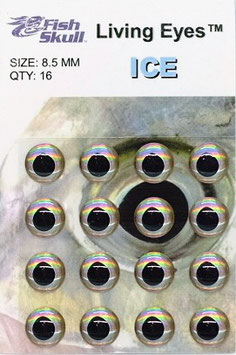 Fish Skull LIVING EYES Ice 8,5mm
