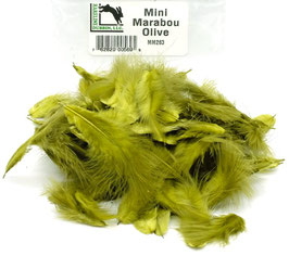 Hareline MINI MARABOU Olive MM263