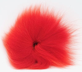 Orkla Fur & Feather ARCTIC FOX TAIL Fl. Red