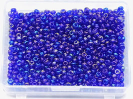 Websta GLASPERLEN Royal Blau Regenbogen GP08
