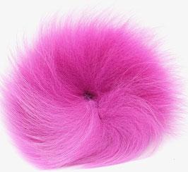 Orkla Fur & Feather ARCTIC FOX TAIL Magneta
