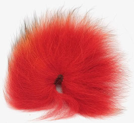 Orkla Fur & Feather ARCTIC FOX TAIL Red