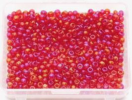 Websta GLASPERLEN Rot Regenbogen GP06