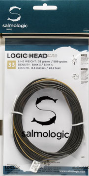 Salmologic LOGIC HEAD 33g./ 509grains SINK3 / SINK4