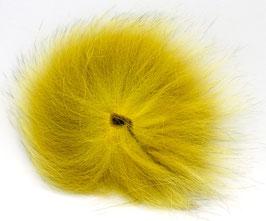 Orkla Fur & Feather ARCTIC FOX TAIL Golden Olive