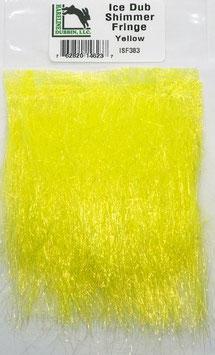 Hareline ICE DUB SHIMMER FRINGE Yellow ISF383