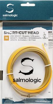 Salmologic SHORT CUT HEAD 18g./ 278grains FLOATING/ INTERMEDIATE