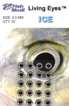 Fish Skull LIVING EYES Ice 5mm